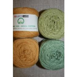 Organic 350 Wool/Cotton Gots certificeret