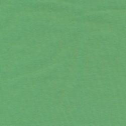 Jersey økotex bomuld/lycra i støvet grøn