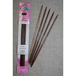 Pony Perfect strømpepinde i bambus str. 2-4