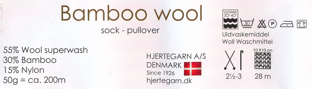 label bamboowool