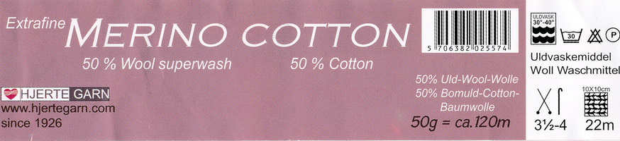 label merino cotton